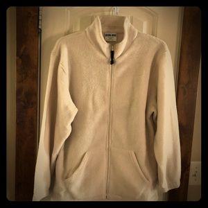 NWOT-Cream, Size Lg., Golden Grove Fleece Jacket